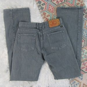 Lucky Brand Gray Wash Flared Plain Jane Jeans 4/27